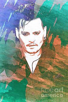 Johnny Depp by Nina Prommer