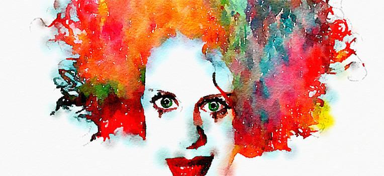Jokers Bride watercolor by Tears of Colors Gallery