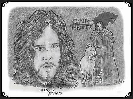 Jon Snow by Chris  DelVecchio