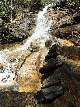 Jones Gap Falls  by Kelly Hazel