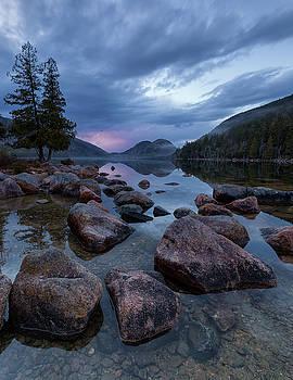 Jordan Pond Sunset  by Patrick Downey