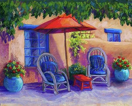 Josefina's Courtyard by Candy Mayer