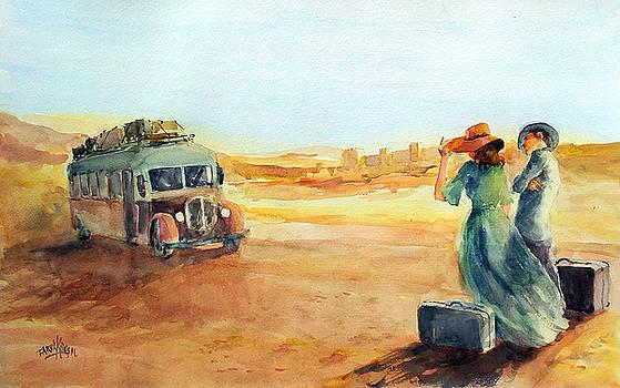 Journey At The Disert... by Faruk Koksal