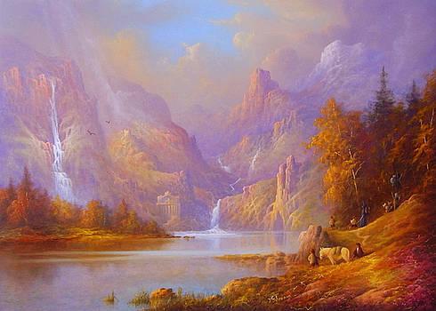 Journey To Moria by Joe Gilronan