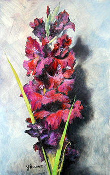 Joy and Gladiola by Jill Brabant
