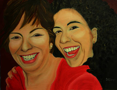 Joyce and Gina by Dean Glorso