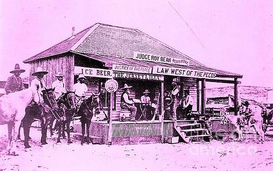 Judge Roy Bean - Law West of the Pecos by Roberto Prusso