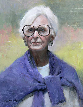 Judy in Blue by Anna Rose Bain