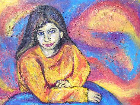 Julie In Yellow by Sarah Crumpler