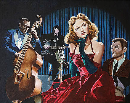Julie London - Cry Me A River by Jo King