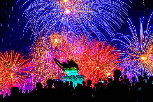 July 4th Fireworks -1 by Hisao Mogi