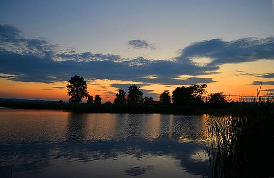July sunset by Rumiana Nikolova