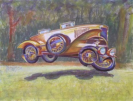 Jumpin Auburn Car by Gary Peterson