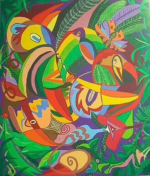 Jungle 1 by Mimi Revencu