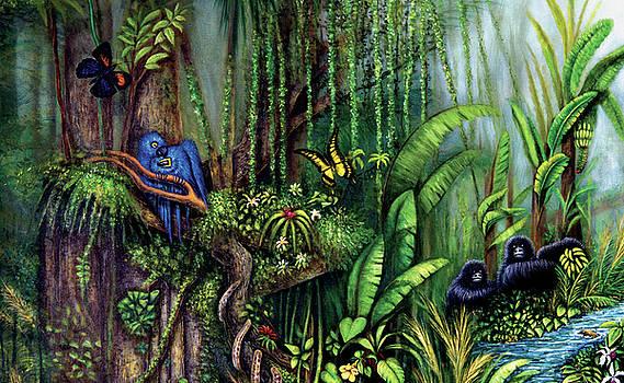 Jungle Talk by Lynn Buettner