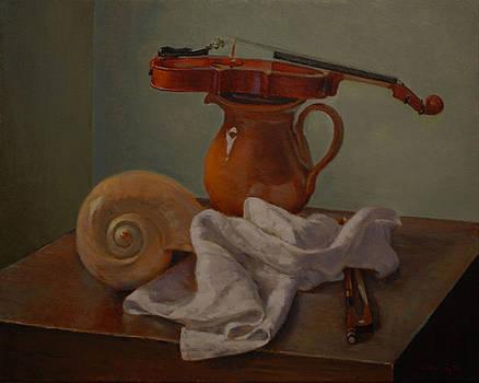 Junior's Violin by Alan Cayton