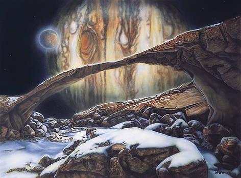 Jupiter From Io by Wayne Pruse