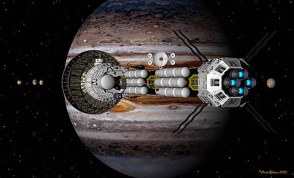Jupiter looming by David Robinson