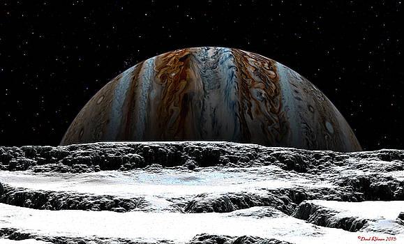 Jupiter rise at Europa by David Robinson