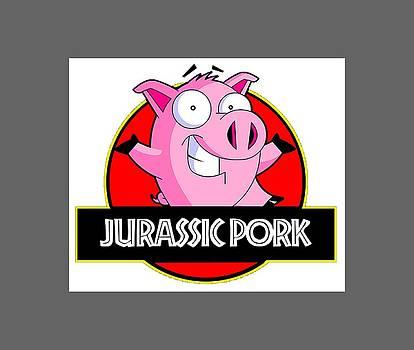 Jurassic Pork by Peter Stevenson