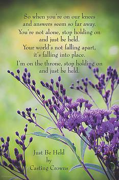 Just Be Held by Debbie Karnes