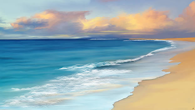 Just beachy by Anthony Fishburne