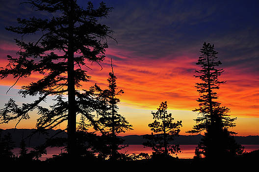 Just Before Dark - Lake Tahoe - Nevada by Bruce Friedman