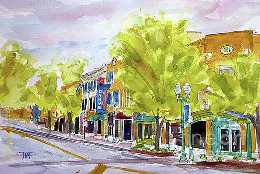 Just Down the Street by Tim Ross