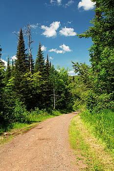 Just Hiked Trail by Amanda Kiplinger