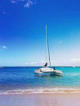 Kaanapali Sail in Maui by Stacia Blase