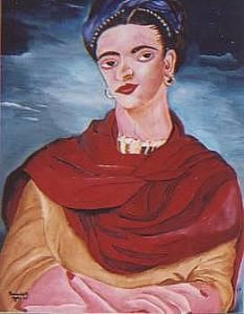 Kahlo Frida by Patrick Desenclos