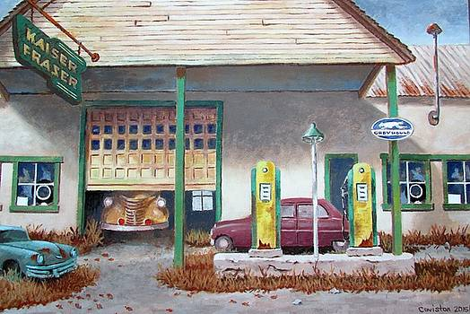 Kaiser Frazer Dealer, Shunk Pa. by Tony Caviston