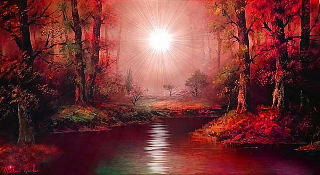 Kaleidoscope Forest by Michael Rucker