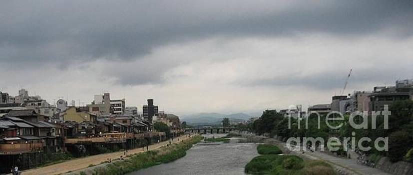 Kamogawa 1 by Taikan Nishimoto