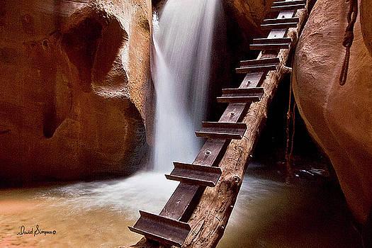 Kanarraville Falls by David Simpson