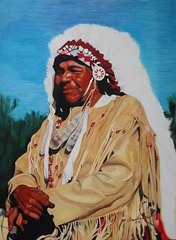 Kansas Indian by Andrea Inostroza