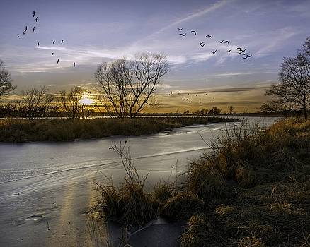 Kansas Sunset by Mark McDaniel