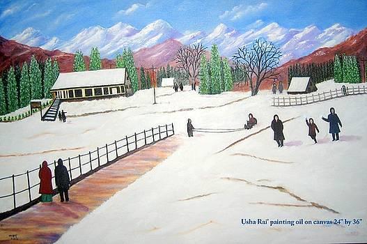 Kashmir by Usha Rai