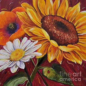 Kathrin's Flowers by Lisa Fiedler Jaworski