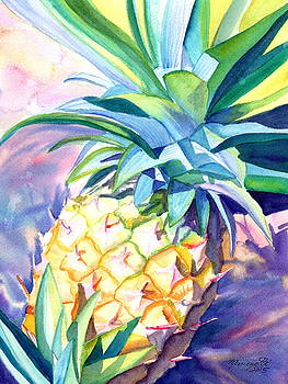 Kauai Pineapple 3 by Marionette Taboniar
