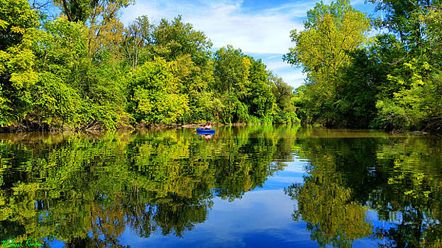 River Kayaking by Michael Rucker