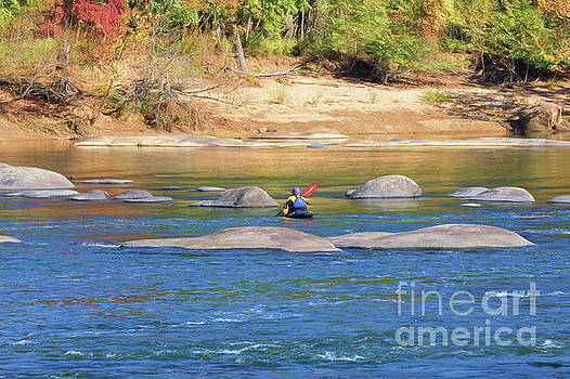 Kayaking On The James by Ava Reaves