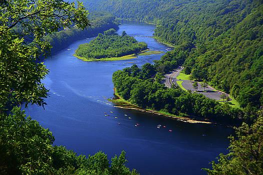Kayaking the Delaware River by Raymond Salani III