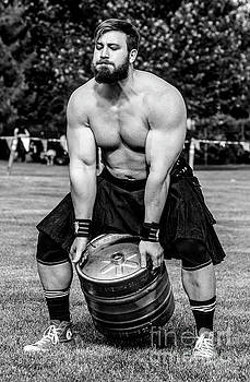 Keg Throw - Scottish Festival and Highland Games by Gary Whitton