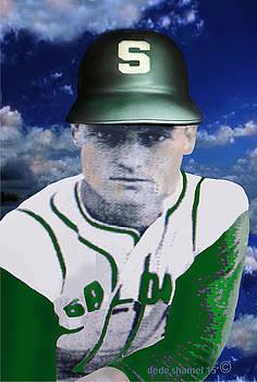Keith Lister Salome Baseball by Dede Shamel Davalos