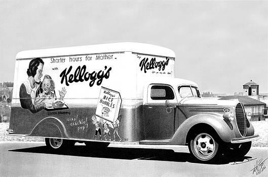 Kellogg's Hauler by Lyle Brown
