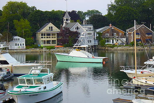 Kennebunkport Harbor by Alice Mainville