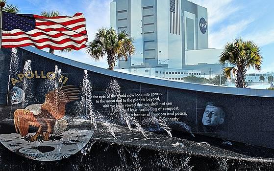 Kennedy Space Center Titusville Florida by Barbara Chichester
