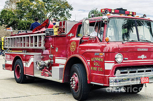 Kenner Volunteer Fire Co - NOLA by Kathleen K Parker