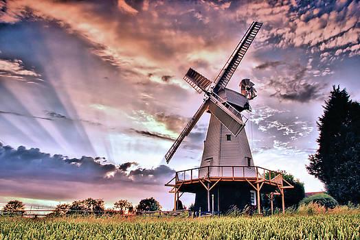 Kentish Smock Mill by Jeremy Sage